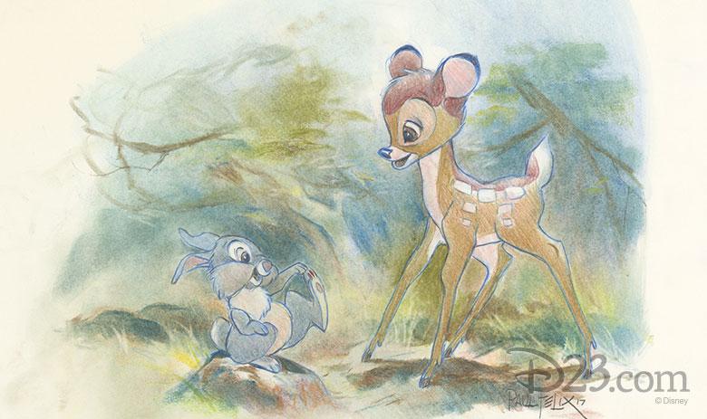 Paul Felix Bambi art