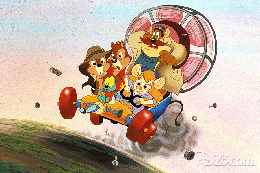 Chip 'n' Dale Rescue Rangers group shot
