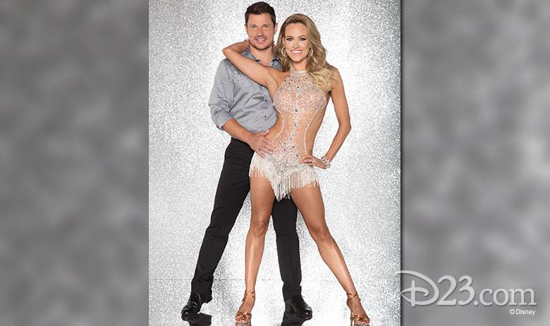 Nick Lachey, dancing with Peta Murgatroyd