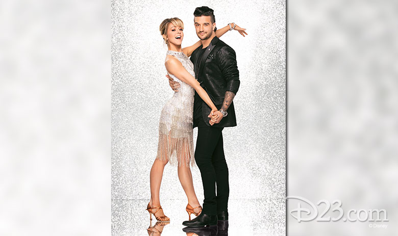 Lindsey Stirling, dancing with Mark Ballas