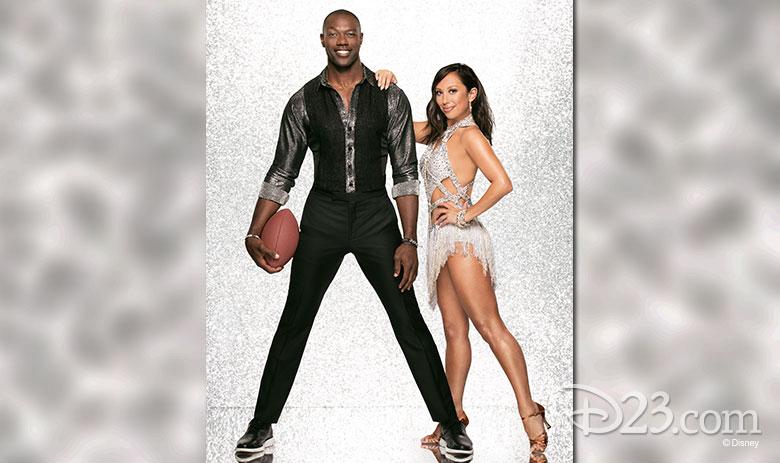 Terrell Owens, dancing with Cheryl Burke