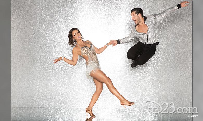 Victoria Arlen, dancing with Val Chmerkovskiy