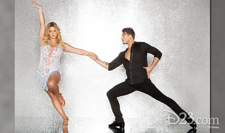 Sasha Pieterse, dancing with Gleb Savchenko