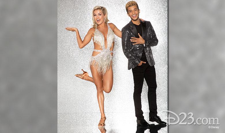 Jordan Fisher, dancing with Lindsay Arnold