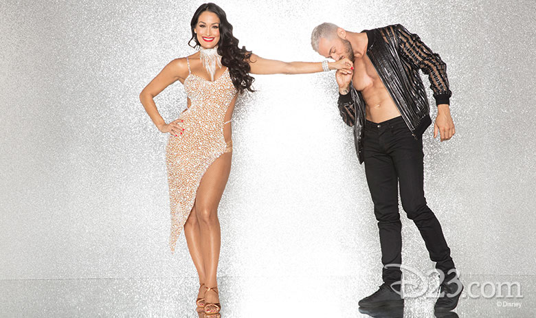 Nikki Bella, dancing with Artem Chigventsev
