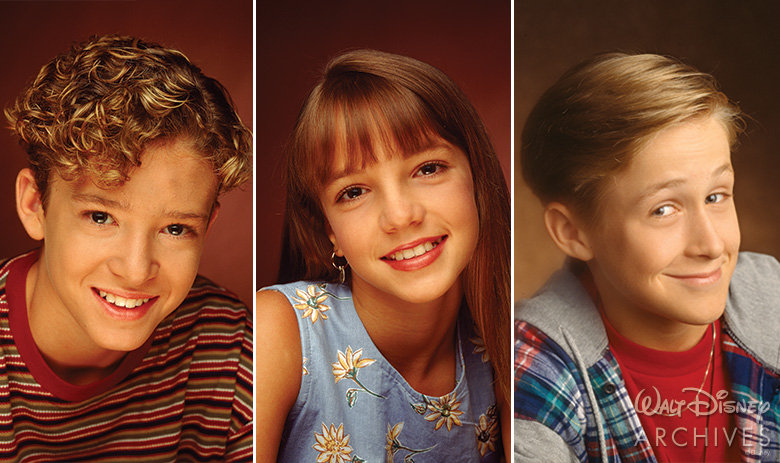 Justin Timberlake, Britney Spears, and Ryan Gosling