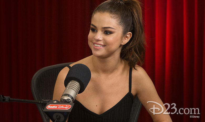 Selena Gomez at Radio Disney