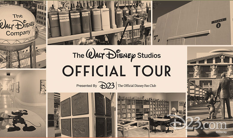 THE OFFICIAL WALT DISNEY STUDIOS TOUR—PRESENTED BY D23