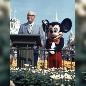 Roy and Mickey at Walt Disney World