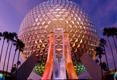 Spaceship Earth - Photos From the Walt Disney Archives