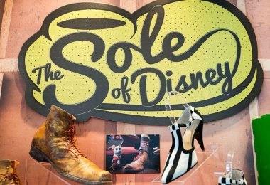 Walt Disney Archives exhibit - The Sole of Disney