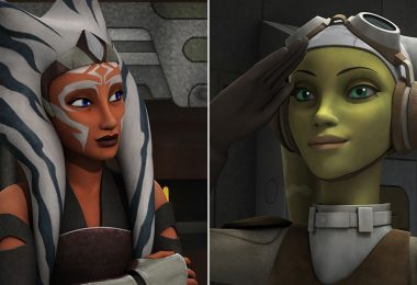 Ahsoka Tano and Hera Syndulla
