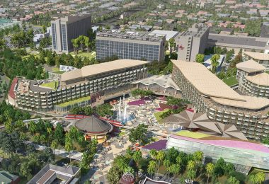 Disneyland Resort hotel concept art