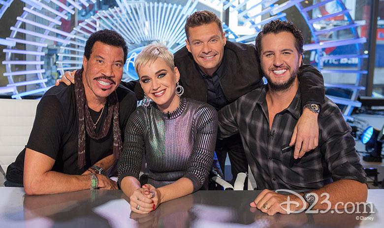 American Idol judges on ABC