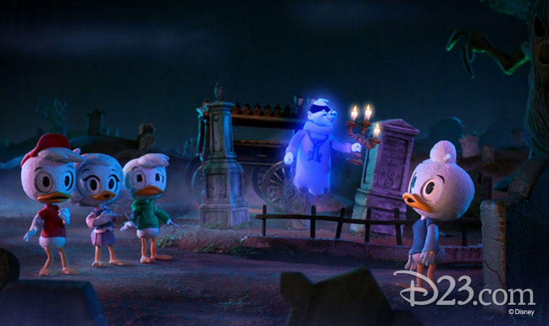Disney XD Haunted Mansion Promo