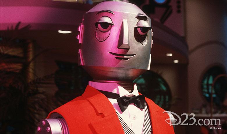 Robot butler audio-animatronic