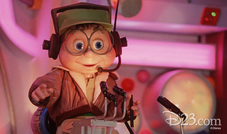 Buzzy audio-animatronic