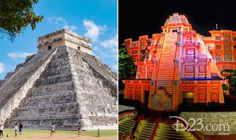 11 real life landmarks that inspired epcot world showcase d23