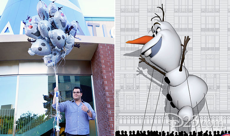 Olaf Macy's Day Parade