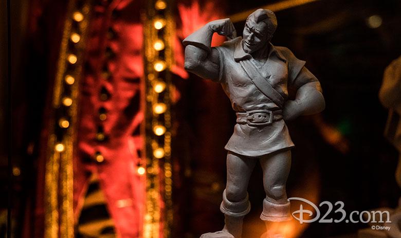 The Walt Disney Archives' House of Villains exhibit