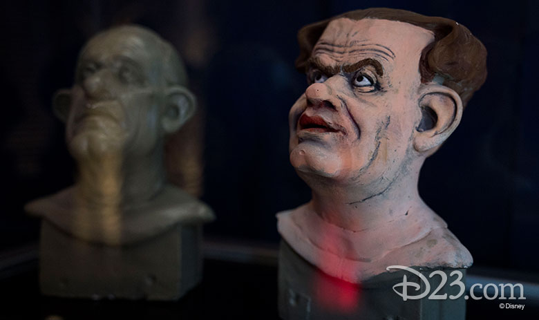 The Walt Disney Archives' House of Villains exhibit