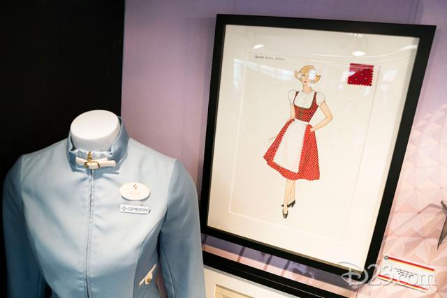 Epcot 35 exhibit by the Walt Disney Archives