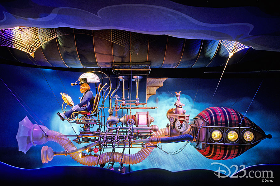 Dreamfinder and Figment from Journey Into Imagination.