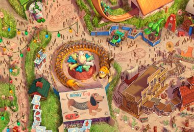 Toy Story Land at Shanghai Disney Resort