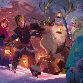Olaf's Frozen Adventure art