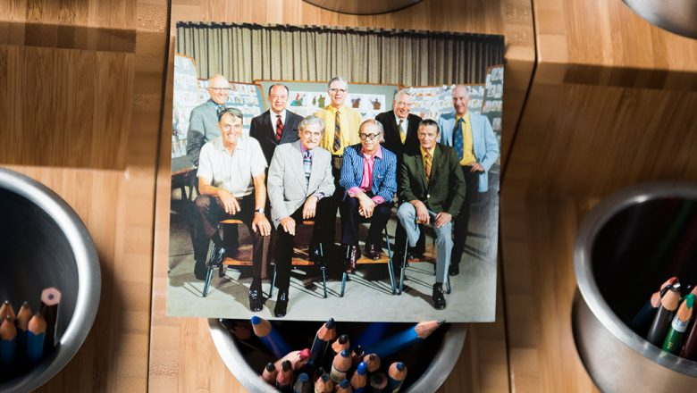 D23 2017 Gold Member Gift: Walt Disney's Nine Old Men