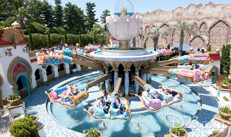 Aladdin's Flying Carpets