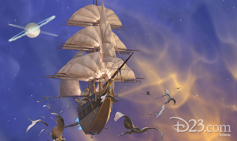 Treasure Planet Star Map.7 Things We Love About Treasure Planet D23