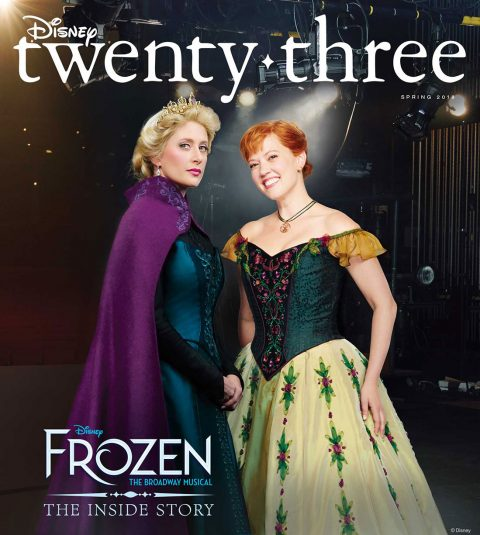 Spring 2018 Disney twenty-three cover