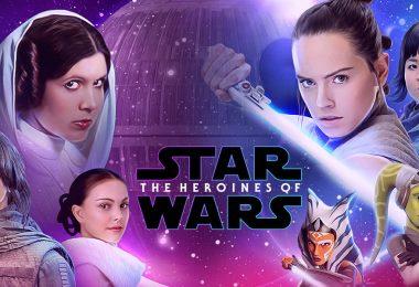 Heroines of Star Wars wallpaper