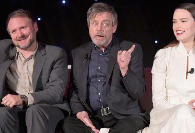 Star Wars: The Last Jedi press conference