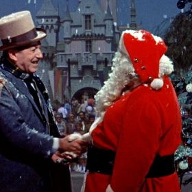 Walt Disney and Santa Clause