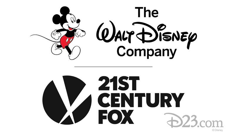 Disney logo and 21st Century Fox logo
