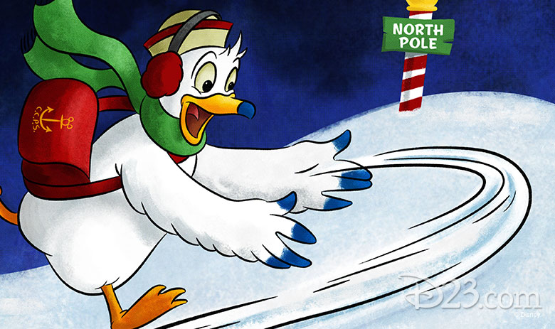 D23 Days of Christmas Disney artist holiday art