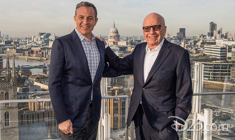 bob iger and robert murdoch