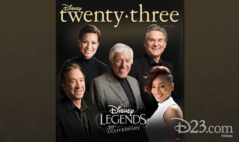 Disney twenty-three Disney Legends issue