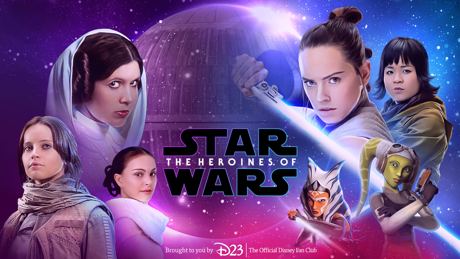 Star Wars Heroines Wallpapers For Your Desktop Tablet Or Phone D23