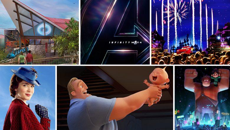 2018 Disney things