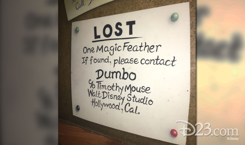 Dumbo's Missing Feather Advertisement