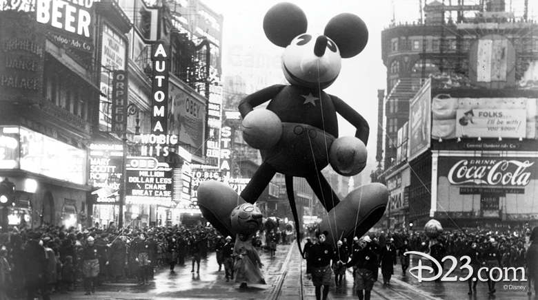 mickey mouse thanksgiving day parade