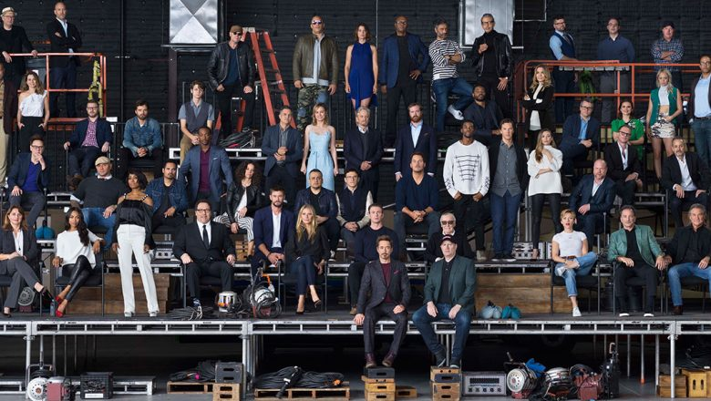 Marvel Cinematic Universe 10th anniversary class photo