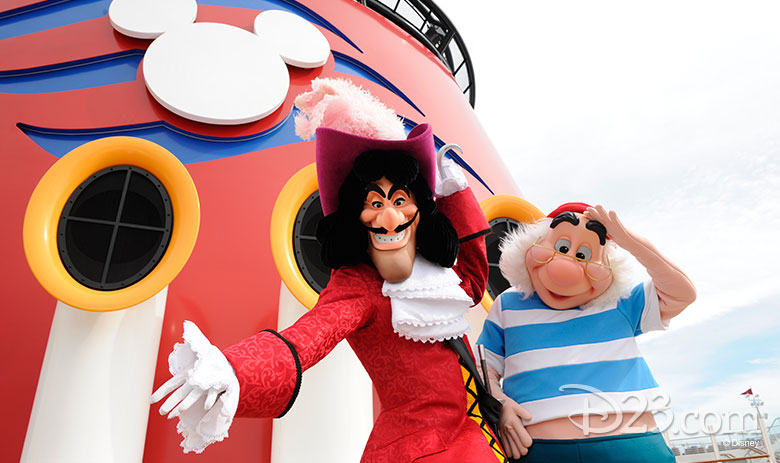 Captain Hook and Smee