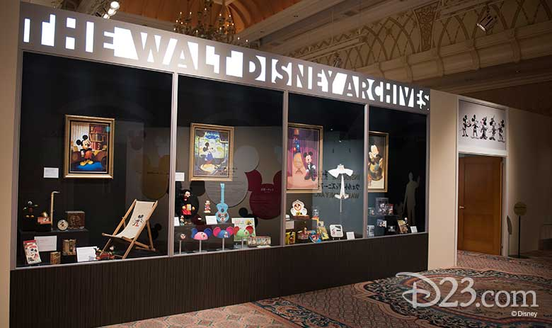 Walt Disney Archives at D23 Expo Japan 2018