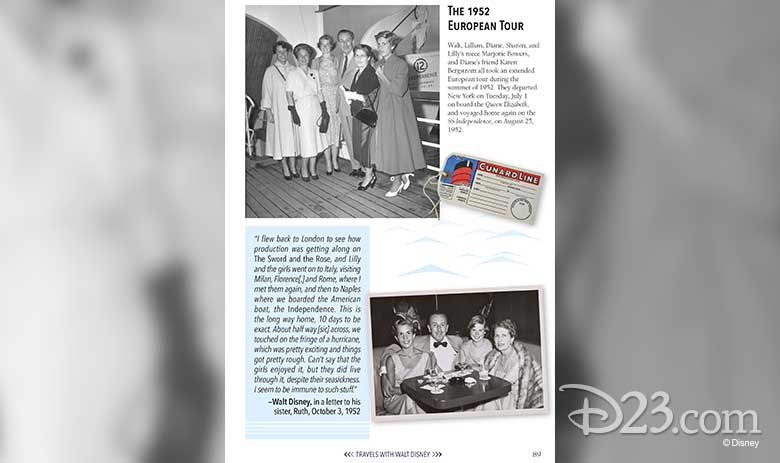 travels with walt disney