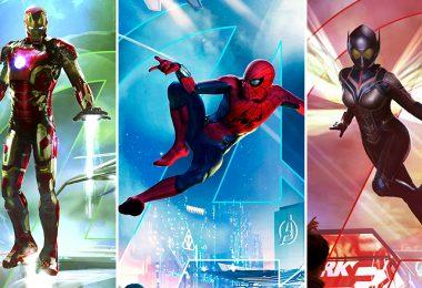 Super Hero-themed lands Marvel