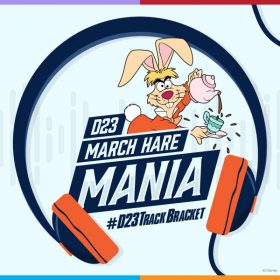 D23 March Hare Mania: #D23TrackBracket